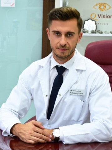 Dr. Radu Mateescu Medic specialist oftalmolog, Cluj, QVision
